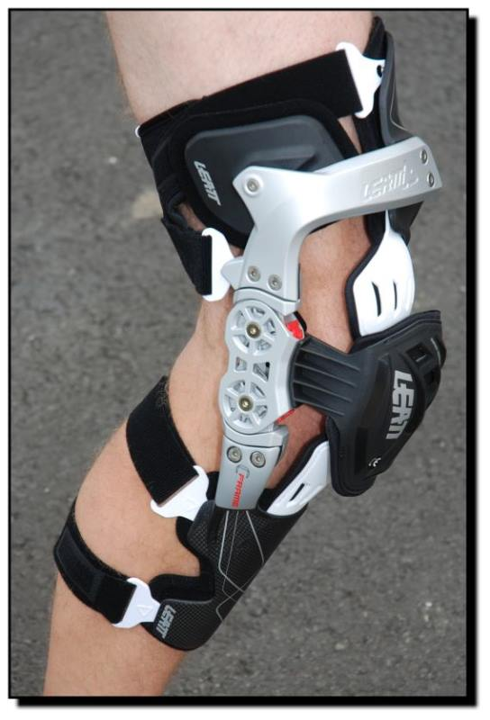 Innovation pur: Leatt Knee-Brace im B T P - Test