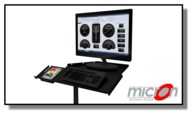 Monitor Tray Option 400
