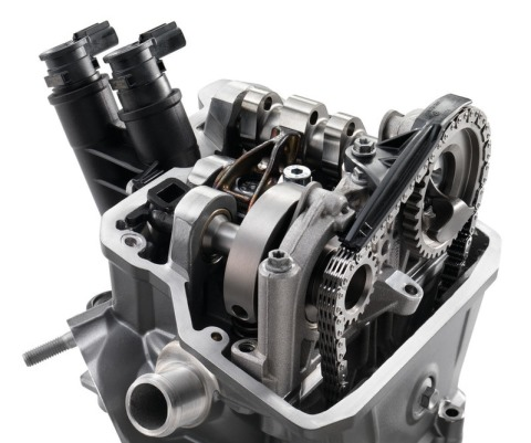 Husqvarna Engine 701 Cylinderhead 480