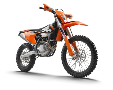 KTM 500 EXC F right front 480