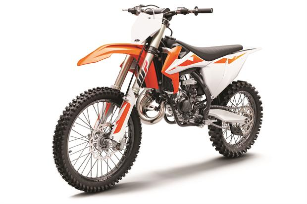 ktm 125 sx my2019 left front