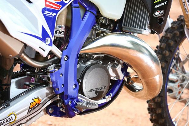 sherco sef r 125 factory 2020 s. christof 2
