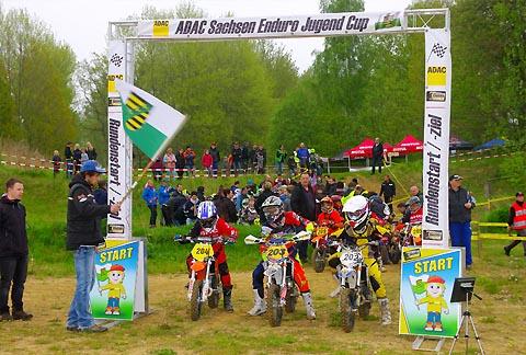 Saisonstart Beim Adac Sachsen Enduro Jugend Cup