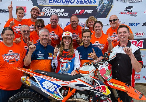 Martinez enduro champ US 2016