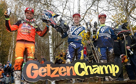 Podium GetzenRodeo 2016