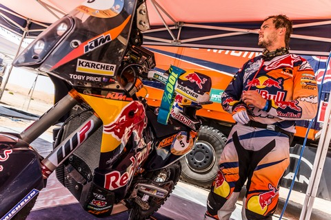 Price KTM 450 RALLY Abu Dhabi 2016