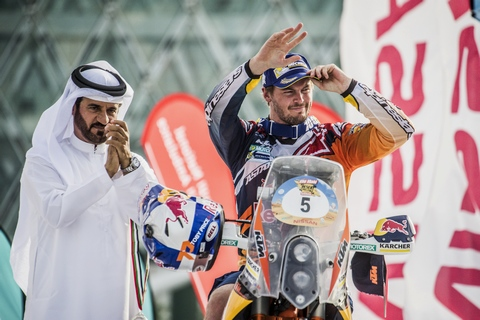 Price Podium Abu Dhabi 2016