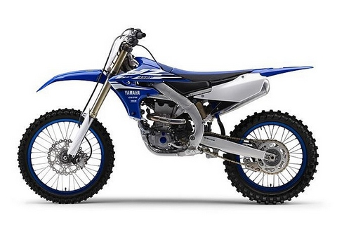 2018 Yamaha YZ450F EU Racing Blue Studio