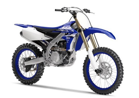 2018 Yamaha YZ450F EU Racing Blue
