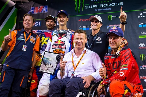 Dungey Podium East Rutherford 2017