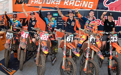 ktm sweep lommel 2017