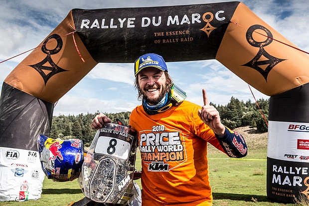 price rally du maroc 2018 champion