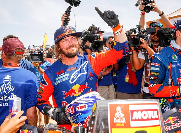 toby price winner rallye dakar 2019