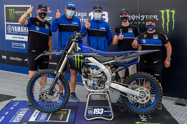 monster energy yamaha mx2 riders until 22